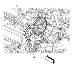 repair instructions water pump belt replacement ld8 2008