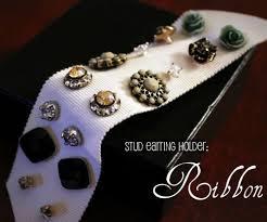 organize stud earrings the 25 best stud earring storage ideas on stud