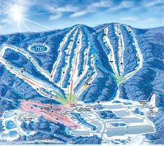 Utah Ski Resort Map by Whitetail Trail Map Liftopia