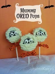 halloween treats mummy oreo pops recipe little miss kate