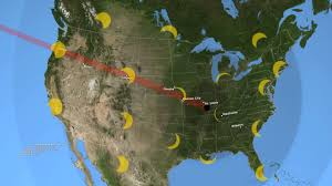52 Places To Go In 2017 by 2017 Total Solar Eclipse U0027s Path Across The U S Youtube