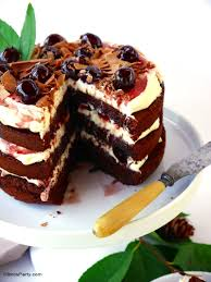 easy black forest gateau cake recipe party ideas party printables