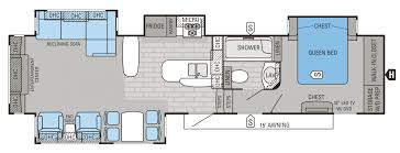 5th Wheel Camper Floor Plans by 2015 Eagle Premier Floorplans U0026 Prices Jayco Inc