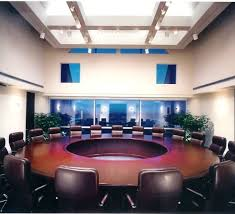 Big Meeting Table Round Boardroom Table Bonners Furniture
