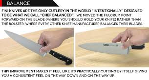 what kitchen knives do i need fini cutlery chef invented knives perfected by fini cutlery