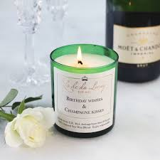 wine birthday candle birthday wishes and champagne kisses candle birthday presents