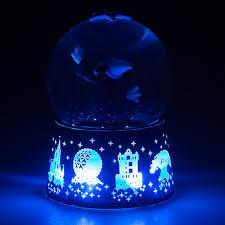 light up snow globe your wdw store disney snow globe 2017 sorcerer mickey mouse logo