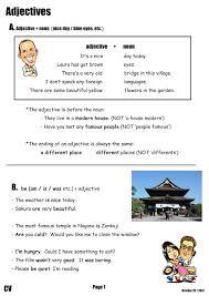 Demonstrative Pronoun Worksheet Canadian Voice English Nagano Adjective Worksheet