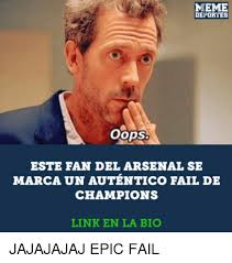 Meme Deportes - 25 best memes about epic fail epic fail memes