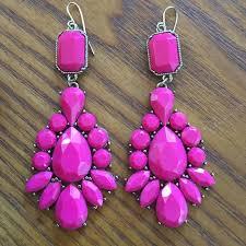 fuschia chandelier bauble bar fuschia chandelier earrings from s