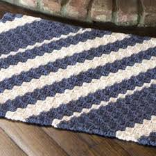 crochet rug patterns free nautical waves rug nautical rugs knitting patterns free and