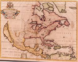 Big Map Of North America by Map Of North America 1700 Vallejo Maritime Gallery 18th