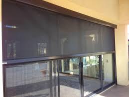 Solar Powered Window Blinds Outdoor Blinds Ventura Outdoor Shades California Exterior