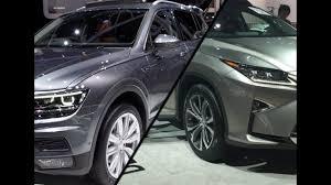 lexus is 300h norge 2017 volkswagen tiguan allspace vs 2017 lexus rx 450h youtube