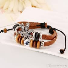 link bracelet charms images Hot new fashion bob marley charm jamaica friendship herb leaf jpg
