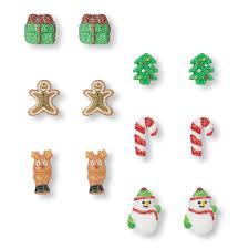 christmas earrings christmas earrings 6 pack the children s place