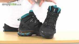 womens boots in the uk salomon womens comet 3d gtx walking boot simplyhike co