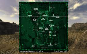 Fallout New Vegas Map With All Locations by Jip Fast Travel Anywhere With Random Encounters At Fallout New