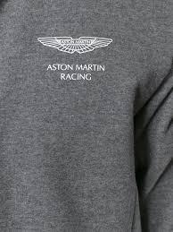 aston martin racing vintage hackett london polo prix sweat zippé