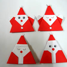 How To Make A Origami Santa - how to make santa claus origami found here info