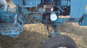 ford 1100 utility tractor youtube