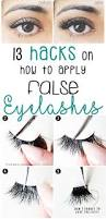 How Long Can You Wear False Eyelashes How To Apply Fake Eyelashes False Lashes Hacks Fake Eyelashes