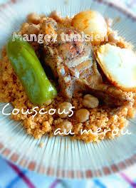 cuisine tunisienne poisson mangez tunisien couscous au merou كسكسي بالمناني cuisine