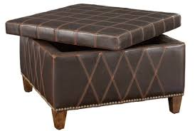 furniture leather coffee table ottoman ideas ottoman with storage