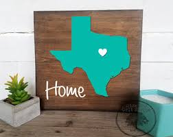 state wood state wood sign etsy