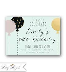 14th birthday party invitations u0027s 14th birthday invitations pastel 14th birthday