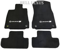lexus rc 350 matte black lexus rc350 2015 f sport 4 pcs black f sport carpet rear wheel