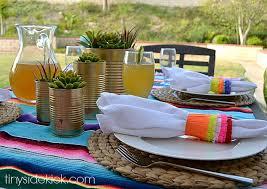 Summer Entertaining Ideas - piñata inspired napkin rings for cinco de mayo
