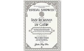 Gatsby Invitations Gatsby Invitation Art Deco Wedding Birthday Shower White And
