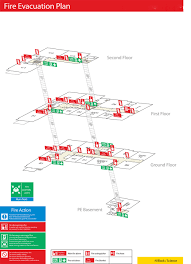 Fire Evacuation Floor Plan Storeyboard C Location Maps