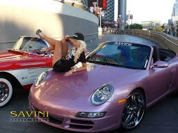 pink porsche convertible savini finally releases behind the scenes photos of the holly