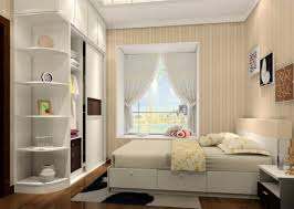 Bedroom Closet Bedroom Closet And Curtain 3d House