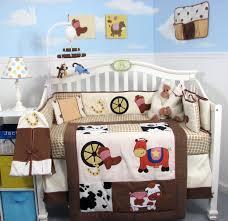 Baby Dinosaur Crib Bedding by Checked Crib Bedding Sets For Your Baby Boy U0027s Nursery