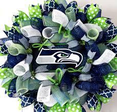 nfl wreaths seattle seahawks wreath seattle seahawks decor