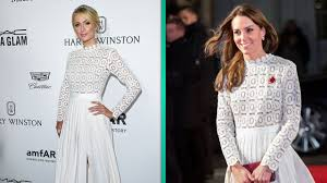Kate Middleton Dress Style From by Kate Middleton Flashes Her Thigh In Stunning Lace Dress At Movie