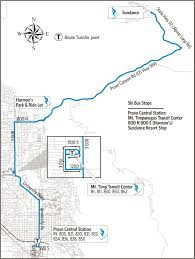 Provo Utah Map by Utah Transit Authority