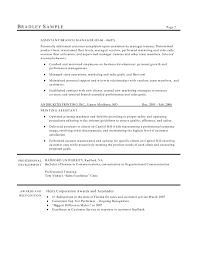 Branch Manager Resume Examples 100 Manager Resume Customer Service Apartment Manager