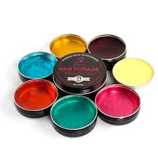 custom one time color hair styling clay hair pomade wax with