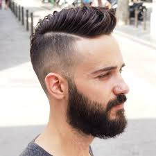blowout hairstyles for men men39s medium hair lenght with high