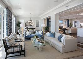 Kitchen And Living Room Floor Plans Ultimate California Beach House With Coastal Interiors Home Bunch