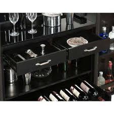 Black Buffet Server by American Heritage Billiards Kitchen U0026 Dining Room Furniture
