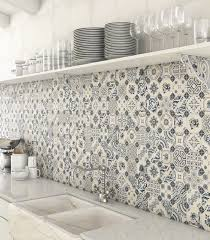 Tile Designs For Kitchens by Top 15 Patchwork Tile Backsplash Designs For Kitchen