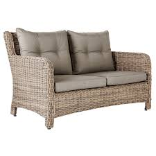 New Hampshire Seater Outdoor Sofa Rattan OKA - Rattan outdoor sofas