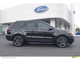 Ford Explorer Rims - tuxedo black metallic 2013 ford explorer sport 4wd exterior photo