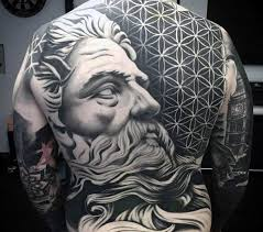 the best geometric back tattoos you have ever seen anywhere