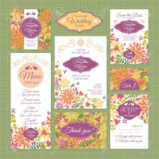 Rsvp Invitation Card Set Of Wedding Cards Wedding Invitations Thank You Card Save